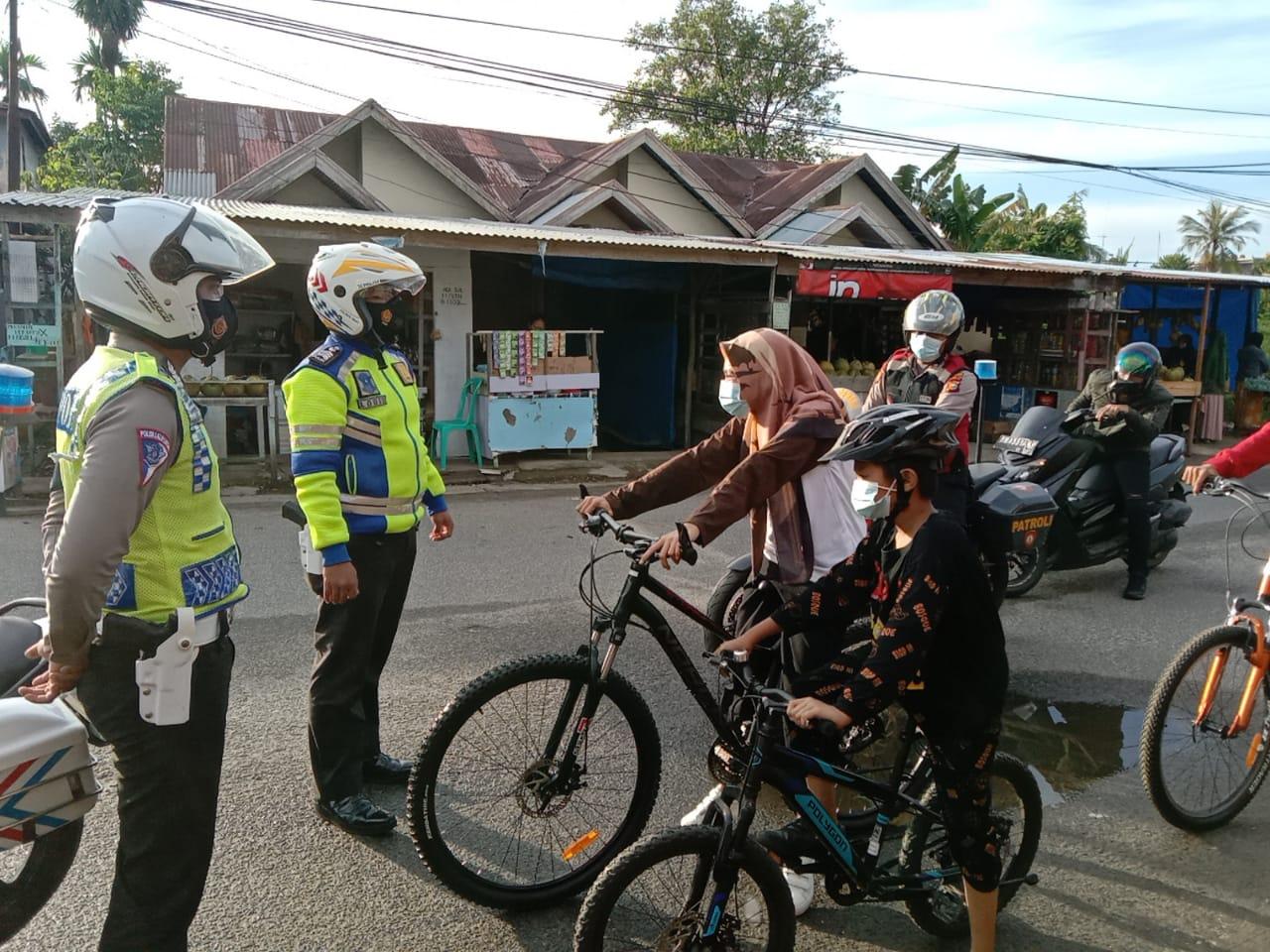 Tim Satgas Anti Begal Sepeda,Lakukan Patroli Rutin