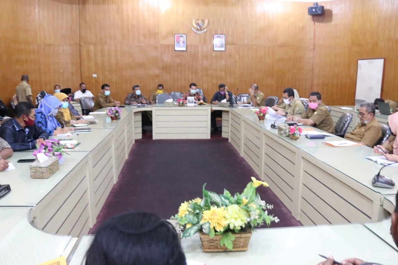 DPRD Sergai Tunggu Janji Pemkab Serahkan rincian Refocusing dan Realokasi Anggaran Covid-19
