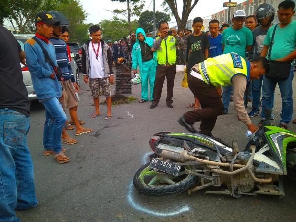 Kecelakaan Maut, Siswa SMP Tewas Terlindas Truk