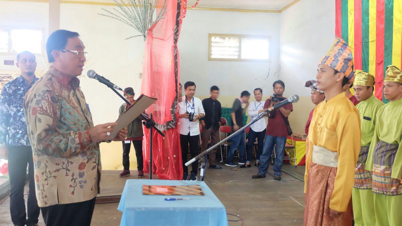 Pelantikan IPR - Y Komisariat Inhil, Bupati: Ini Momentum Memperkokoh Silahturrahmi