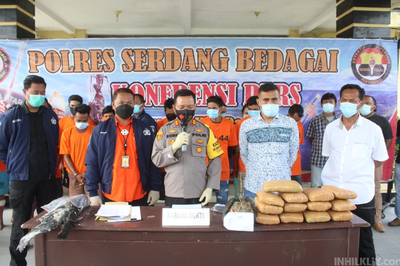 4 Tahanan Polres Sergai Kabur Kembali Ditangkap