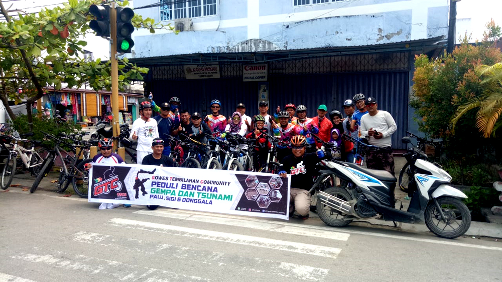 GTC Tembilahan Galang Dana Untuk Korban Bencana Palu dan Donggala