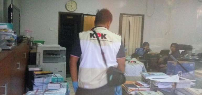 Ini Kata KPK Soal Penggeledahan Kantor DPRD Bengkalis