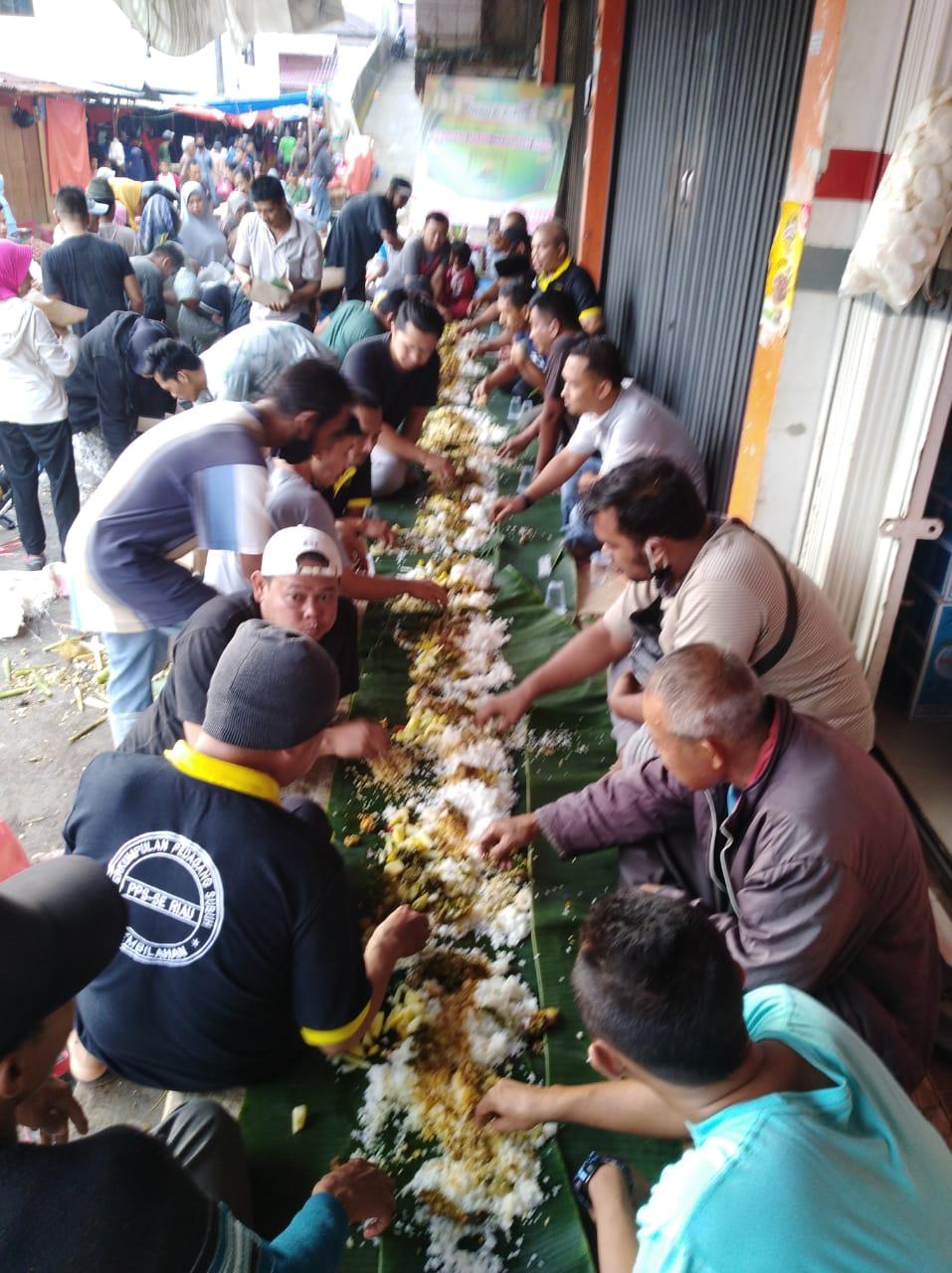 FOTO: Pupuk Kekompakan, PPS Tembilahan Gelar Makan Bersama