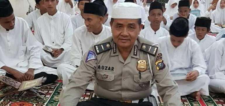 Ipda Auzar, Anggota Polda Riau yang Diserang Teroris Miliki Pesantren dan Mendidik Ratusan Anak Yatim