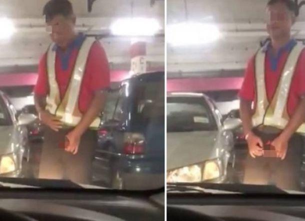 Pengunjung Cewek: Saya Panggil untuk Bantu Parkir Mobil, Eh...Dia Keluarkan Terongnya
