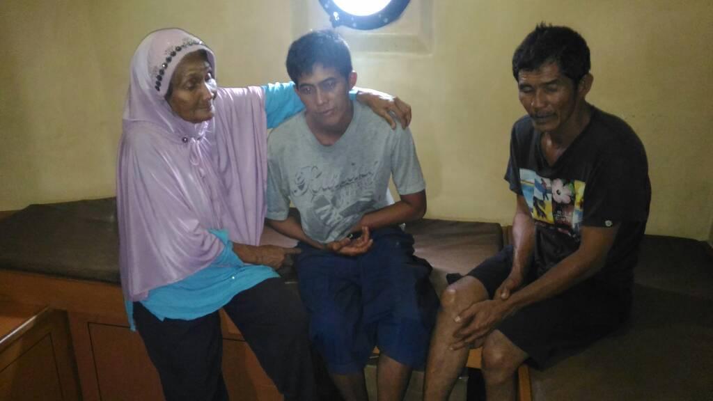 Karena Tong Ikan, Dua Nelayan Dumai Selamat Dari Bencana di Laut