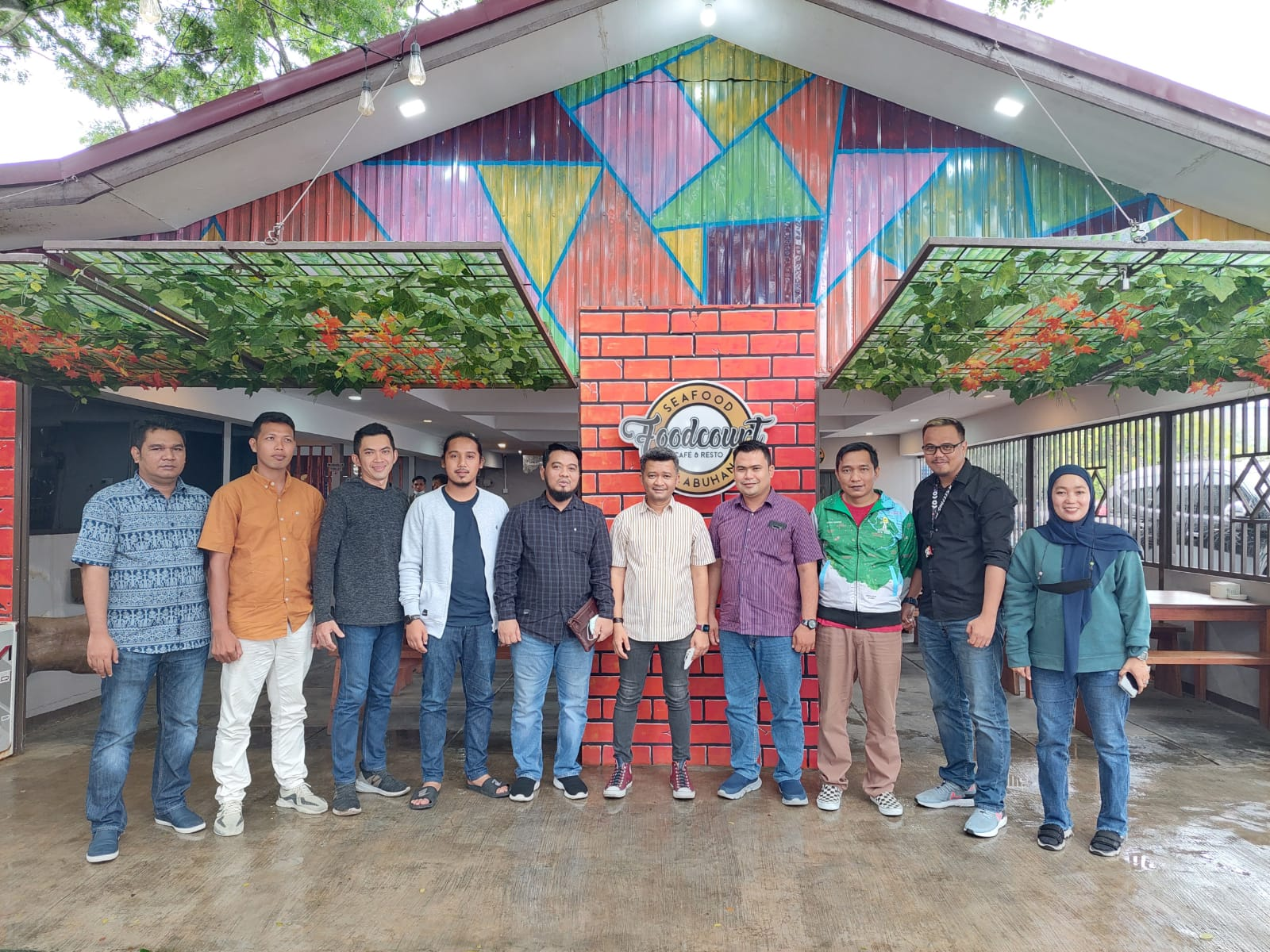 Caketum HIPMI Riau Erwin Edison Gelar Roadshow ke Kabupaten Inhil