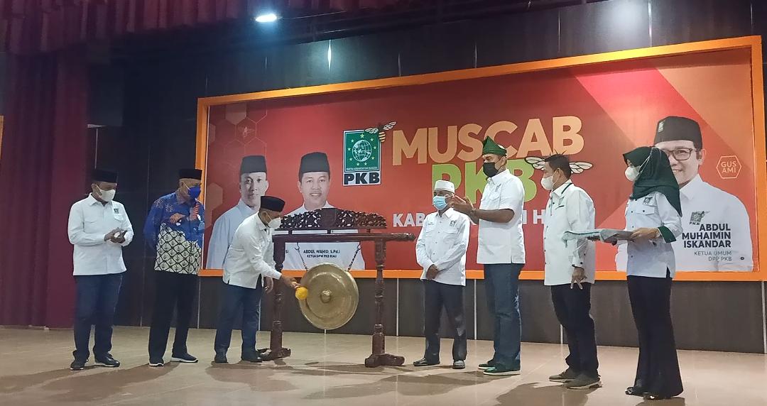 Muscab Ke-V DPC PKB Inhil Resmi Dibuka Ketua DPW PKB Riau