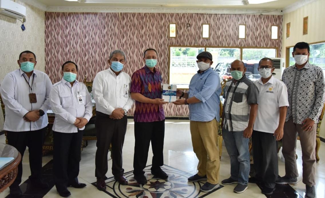 Silaturahmi dengan PWI Riau, Dirut BRK Komit Bangun Sinergi dengan Wartawan