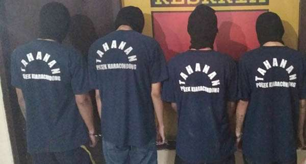 Jual Motor Curian di Instagram, 4 Kawanan Maling Diciduk Polisi