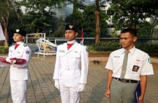 Gagal Jadi Anggota Paskibra Kabupaten, Si Koko Diundang Khusus Kemenpora untuk HUT RI ke-74