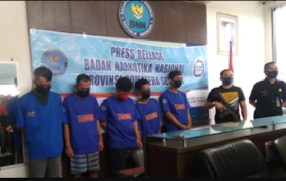 Narkoba Asal Tembilahan, Inhil Berhasil Diamankan BNNP Sumsel
