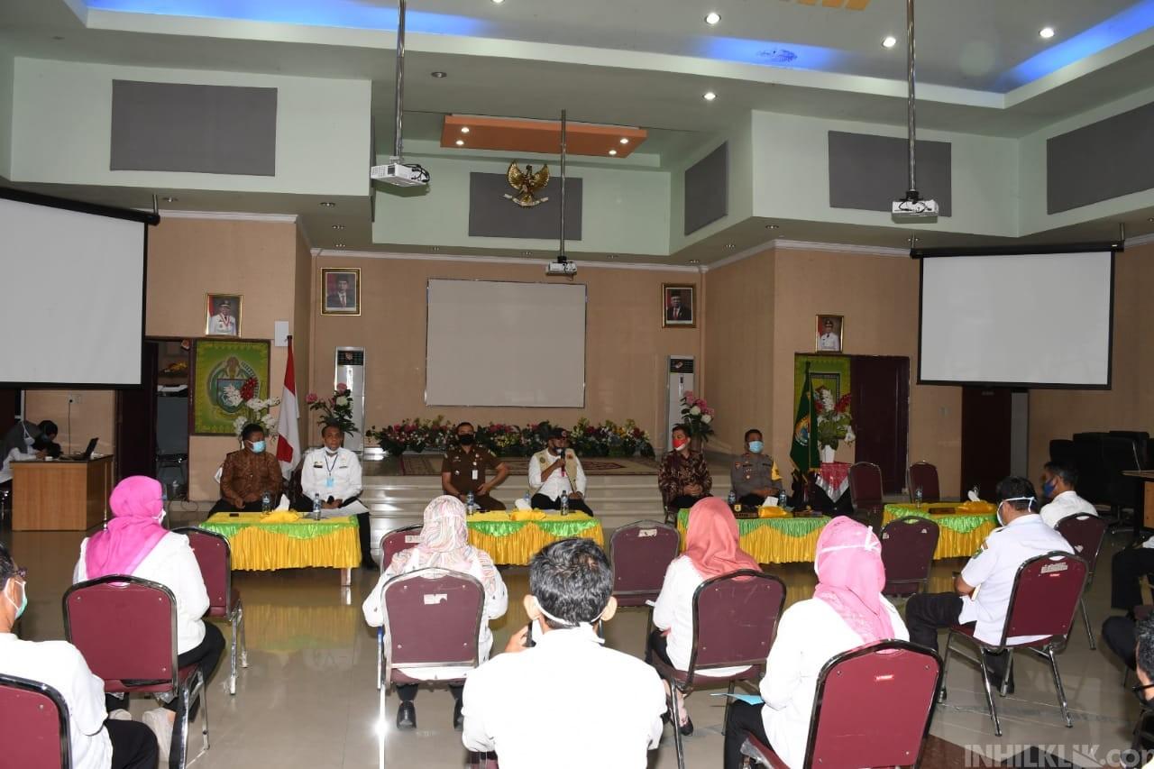 Cegah Penularan Lanjutan di RSUD Sultan Sulaiman, Gugus Tugas Sergai Ambil Opsi Lockdown