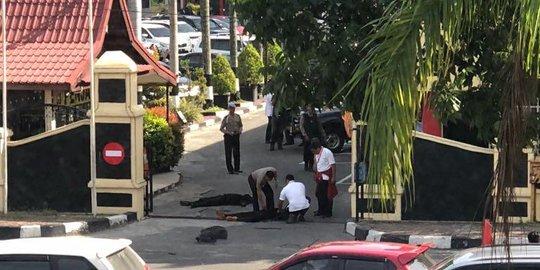 Dua Jurnalis dari TV ONE dan MNC TV Juga Jadi Korban Serangan Teroris di Mapolda Riau