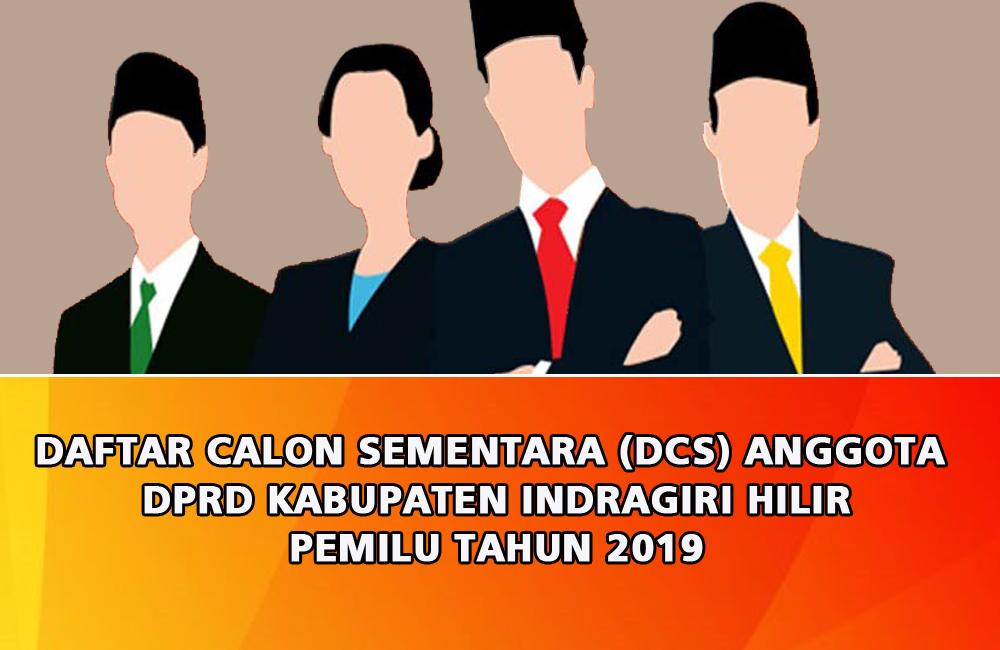 KPU Inhil Umumkan DCS Pileg 2019, Masyarakat Diminta Berikan Masukan