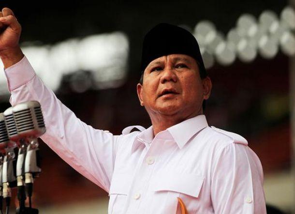 2018, Prabowo Subianto Umumkan Maju Pilpres