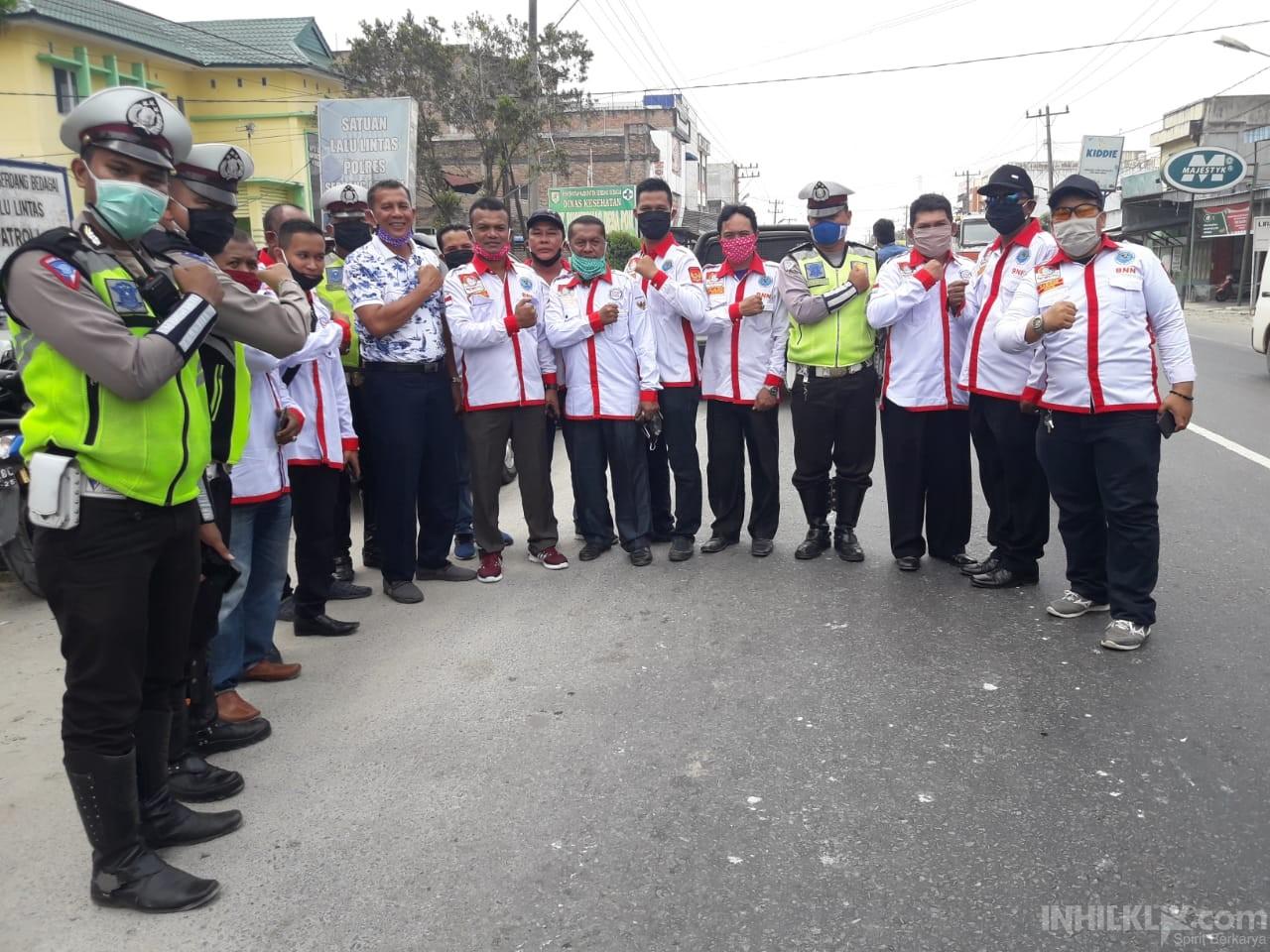 DPC MAPAN-RI Kabupaten Sergai Peduli Cegah Covid-19