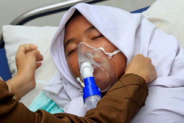 Hingga September 6 Ribu Lebih Warga Riau Jadi Korban ISPA Akibat Kabut Asap