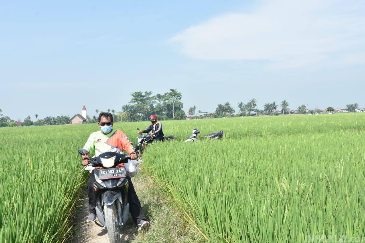 Wabup Sergai Kunjungi Desa Pematang Terang