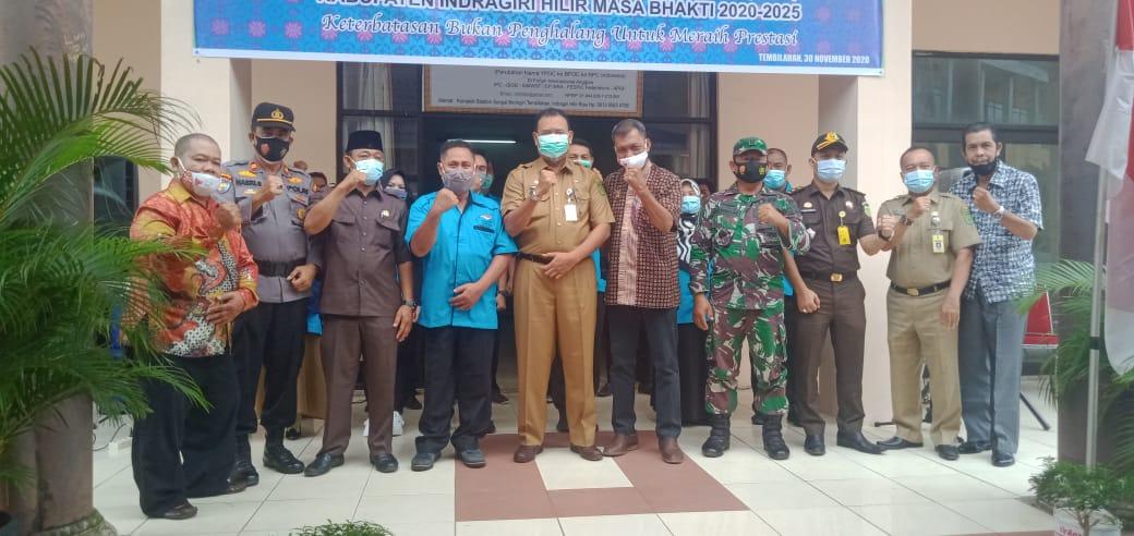 Selamet Prabowo Resmi Pimpin NPCI Inhil