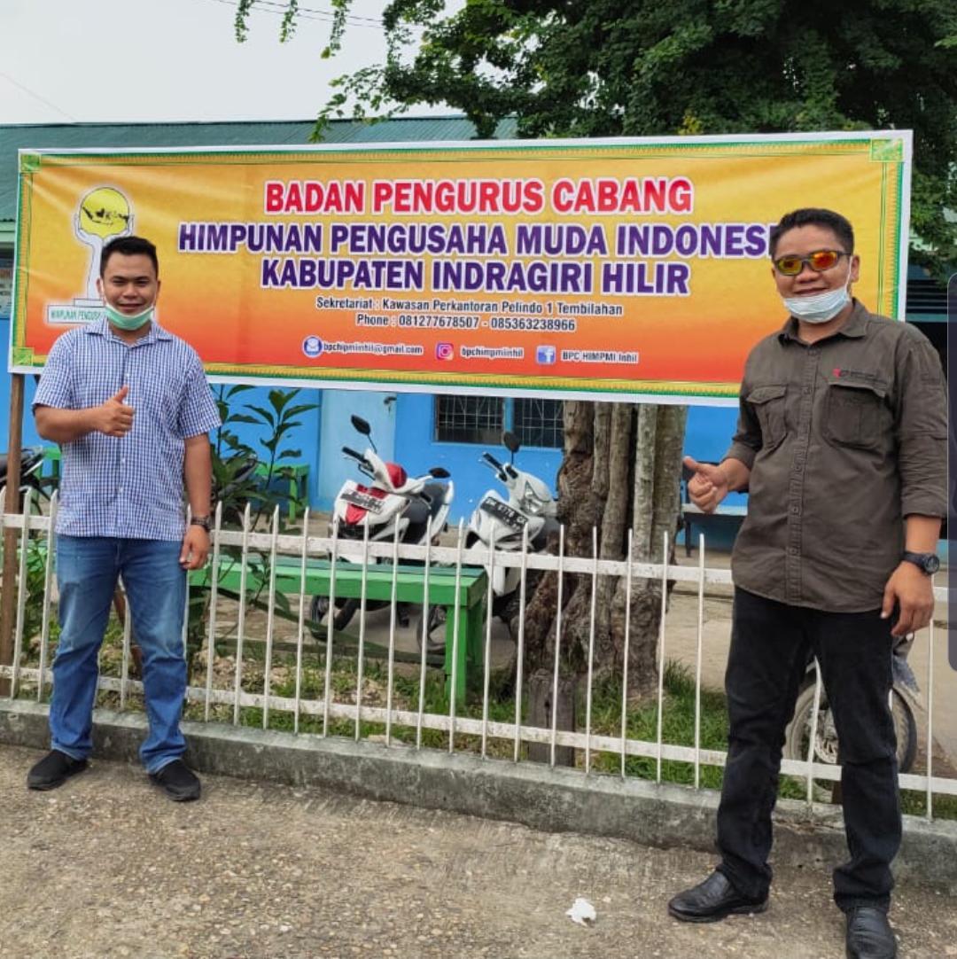 HIPMI Inhil Siap Dukung Pemda Inhil Operasikan Pelabuhan Parit 21 Tembilahan