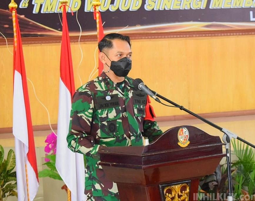 Dandim 0204/DS: Pengabdian TNI kepada Rakyat Tidak Berhenti Meski TMMD Telah Selesai