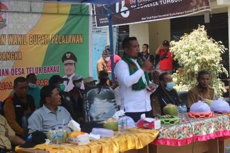 Bupati Pelalawan Lakukan Kunjungan Kerja Perdana Ke Kecamatan Kuala Kampar