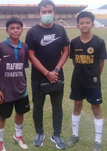 Dua Putra Inhil Lolos Seleksi Timnas U16 Zona Riau