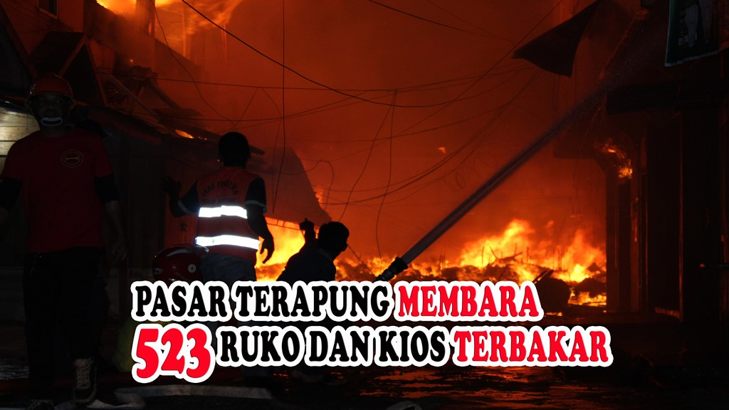 VIDEO: Kronologis Kebakaran Pasar Yos Sudarso Tembilahan Versi Polisi