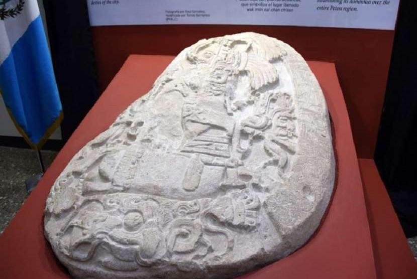 Altar Suku Maya Berusia Ribuan Tahun Ditemukan