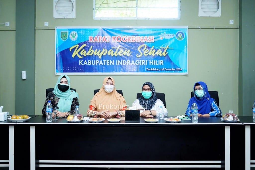 Sebelas Kecamatan di Inhil Dipilih Sebagai Lokus Kabupaten Sehat