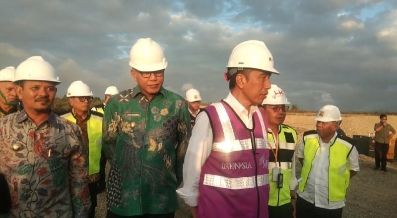 Presiden Jokowi Kaget Progres Pembangunan Tol Aceh Lebih Cepat