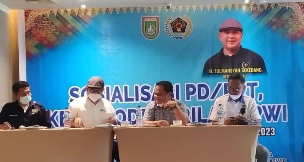 Zulmansyah Minta Anggota PWI Dumai Jaga Marwah Profesi dan Organisasi