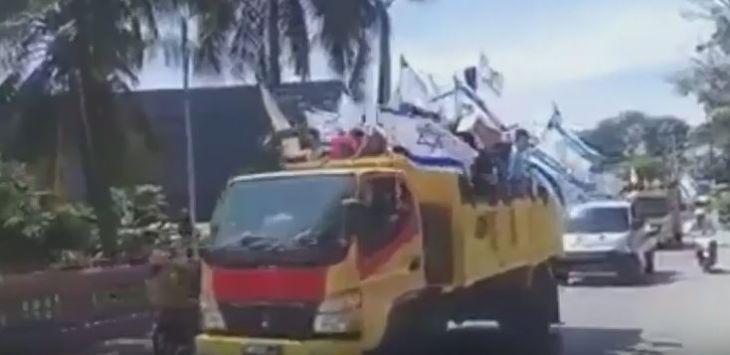 Indonesia Diserang Teroris, Bendera Israel Malah Berkibar di Papua, Ini Videonya