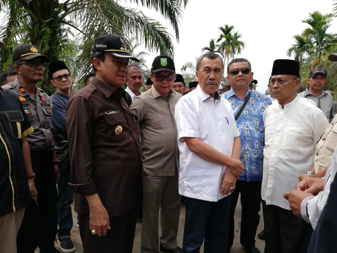 Bupati Inhil Sambut Kunjungan Kerja Perdana Gubernur Riau