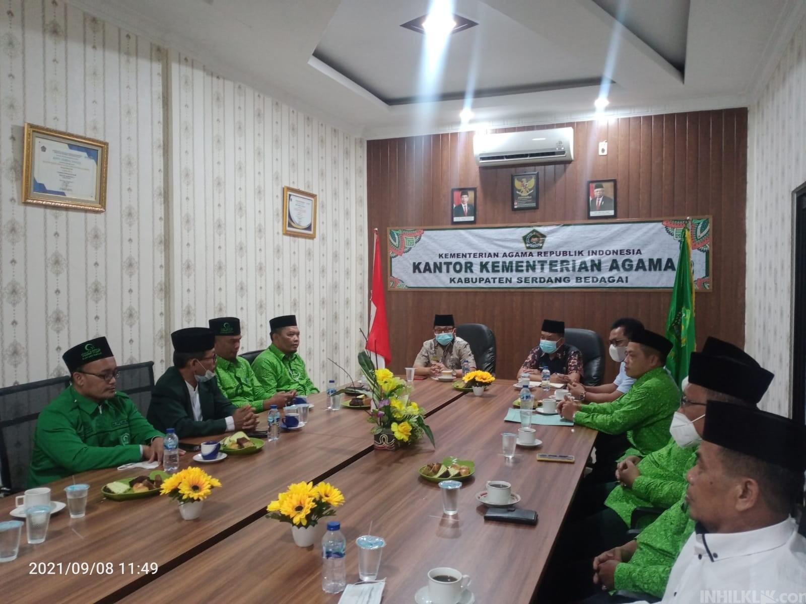 PD Al-Jam'iyatul Washliyah Sergai Siap Sinergitas dengan Kemenag Sergai
