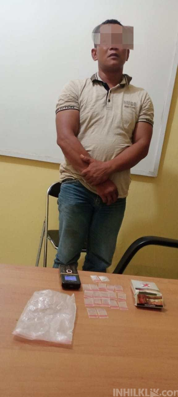 Seorang Pria di Deli Serdang Ditangkap Polisi Saat Bawa 'Si Putih'