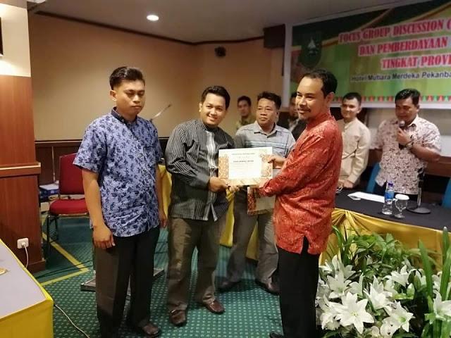 Sungai Intan Raih Juara II Desa Terbaik Kategori Prakarsa dan Inovasi Desa