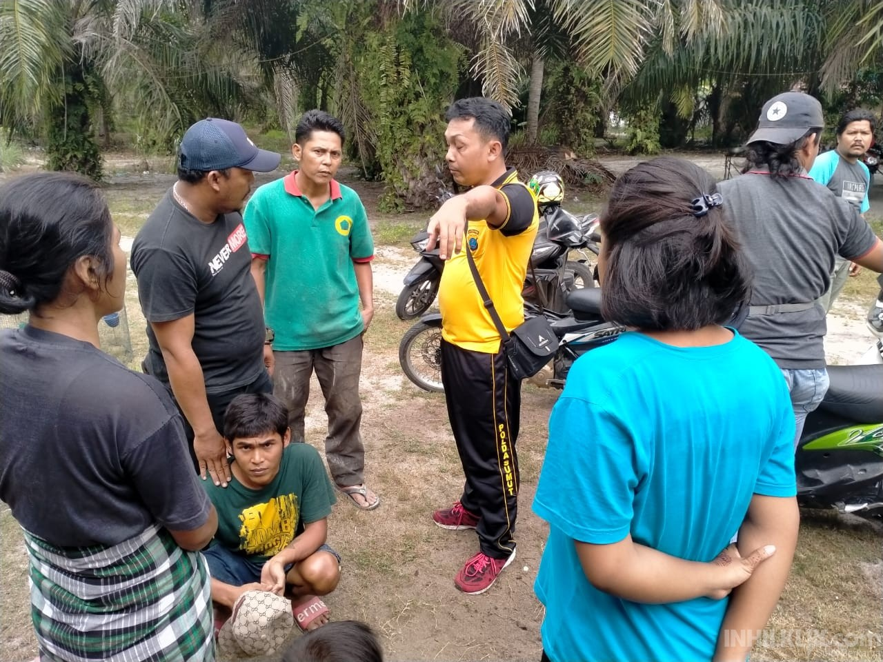Tim Opsnal Satnarkoba Polres Sergai Kembali GKN di Tanjung Beringin