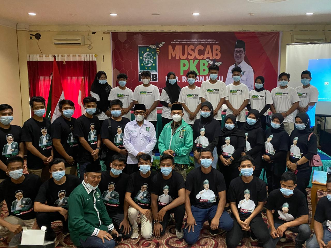 Buka Muscab PKB Rokan Hulu, Abdul Wahid dikejutkan dengan Penampilan Anak Muda Milenial PKB