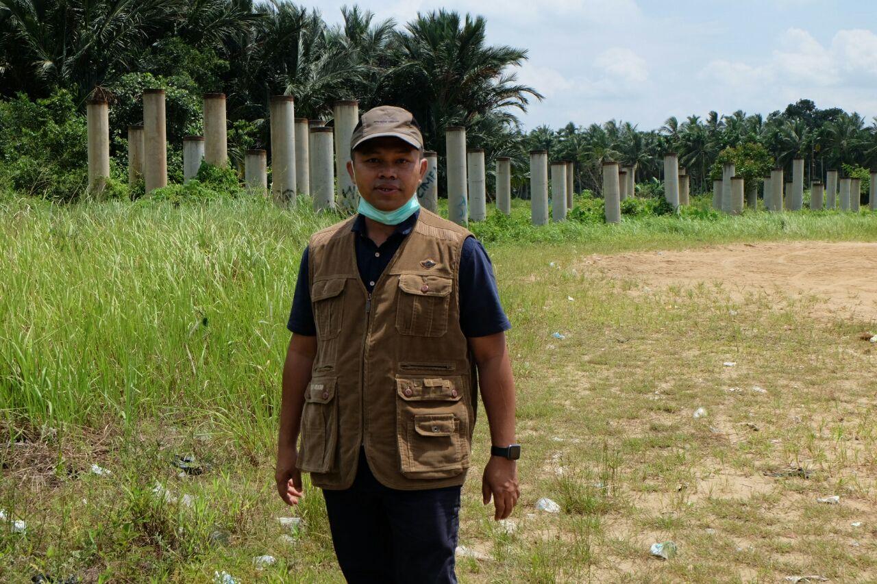 Jembatan Sungai Empat dan Belantara 'Mangkrak' Abdul Wahid Komitmen Akan Tuntaskan