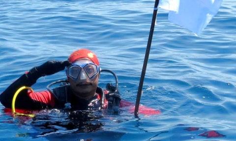 Syachrul Anto Tak Pernah Tinggalkan Salat di Laut Meski Kiblatnya Selalu Berubah