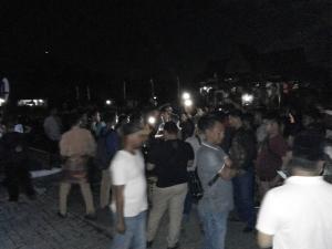 Ketua GP Ansor Tertahan di Mapolres Bengkalis Setelah Dihadang Ratusan Massa