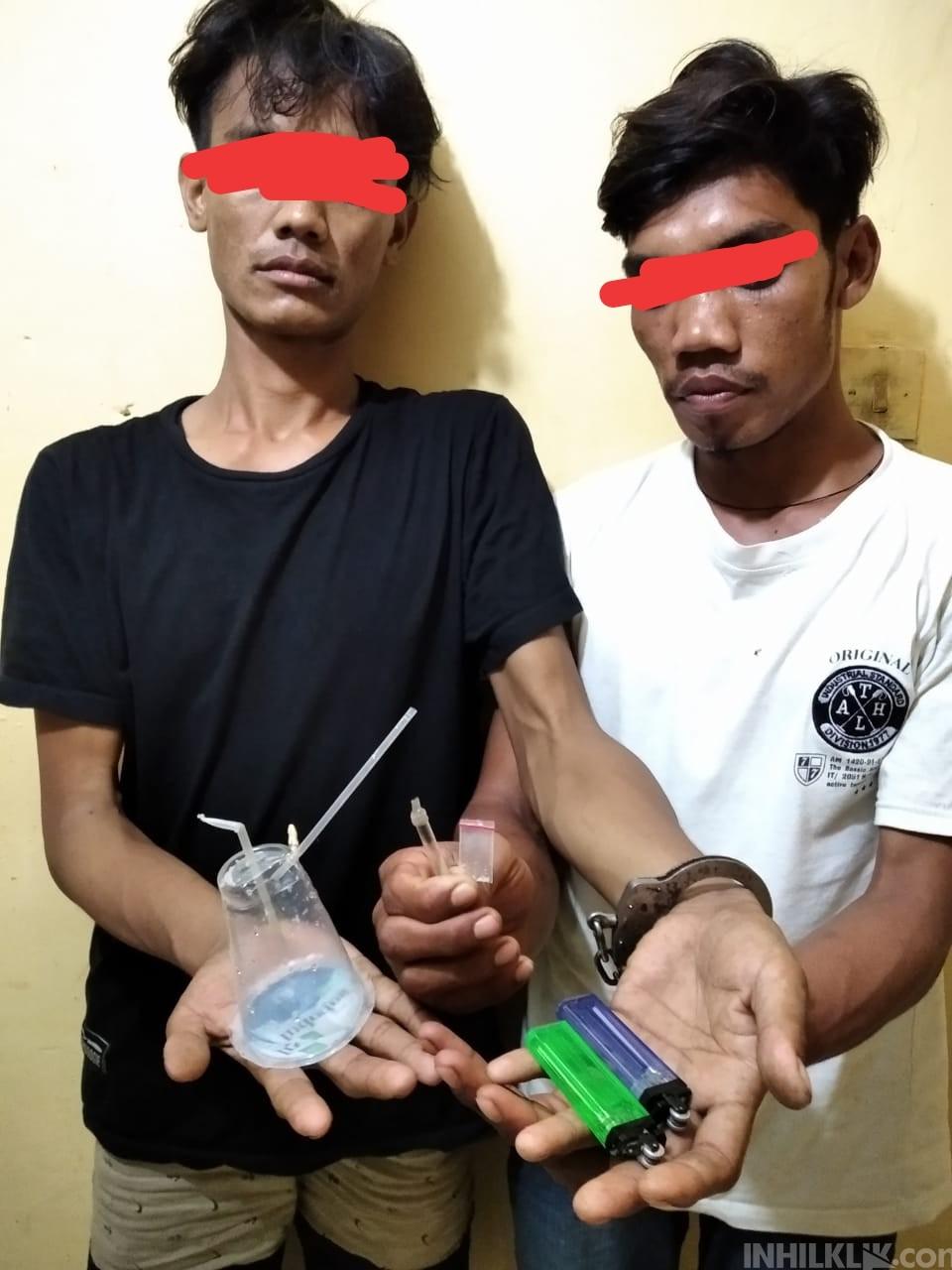 Gagalkan Transaksi Sabu, Polsek Tanjung Beringin 'Angkut' 2 Pria