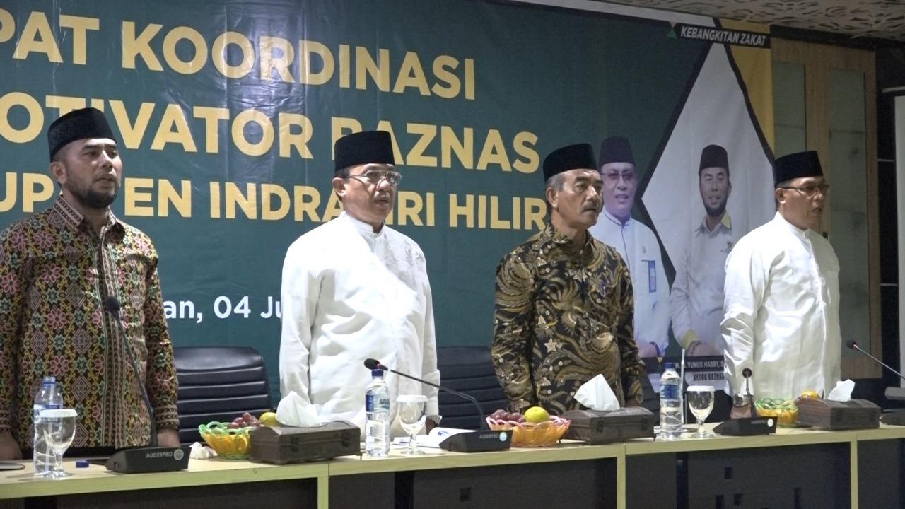Bupati Wardan Membuka Rakor Da'i Motivator Baznas Se - Kabupaten Inhil