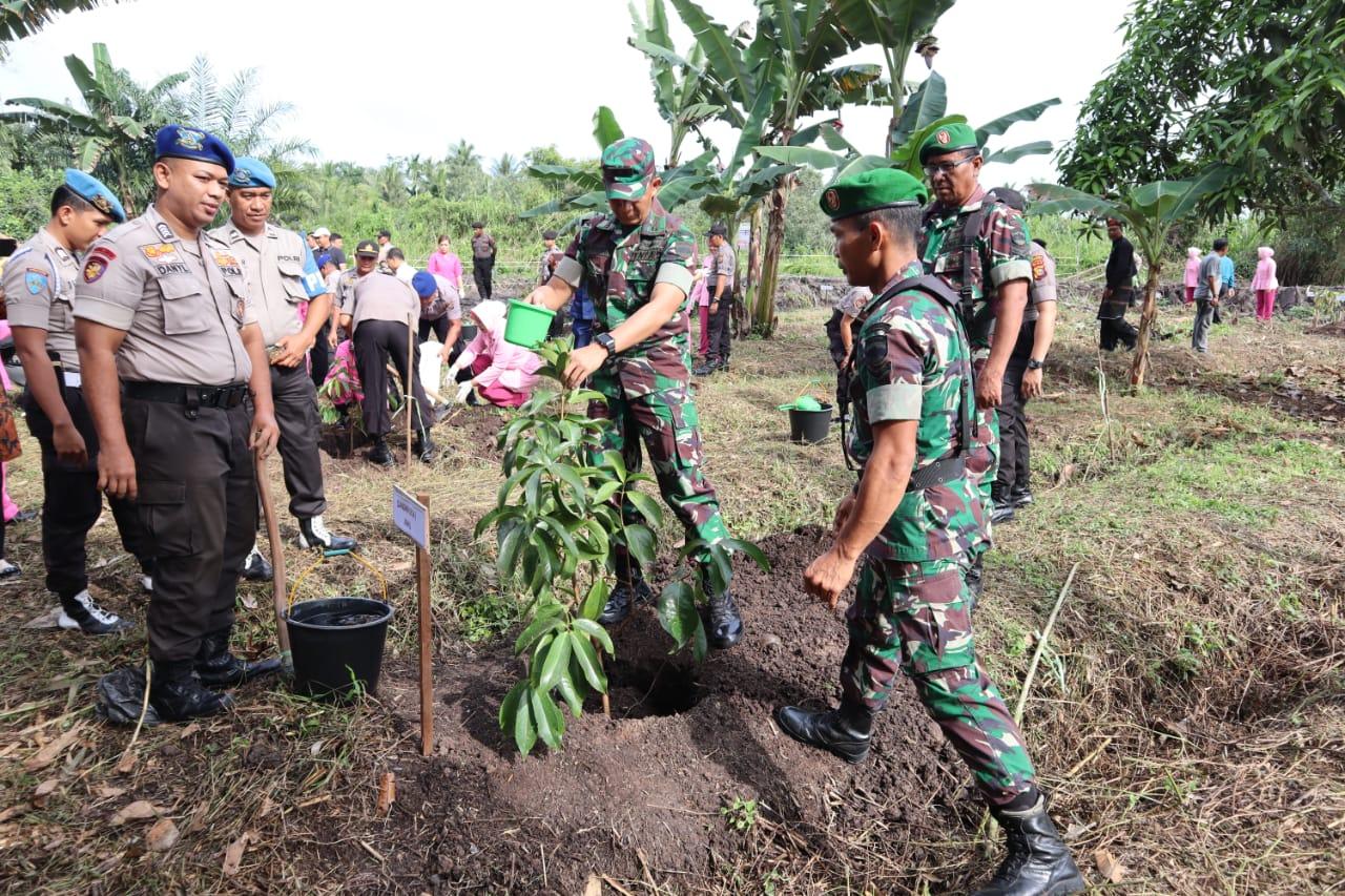 Penanaman 3000 Pohon di Inhil