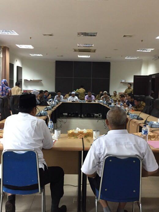 Pemberangkatan JCH, DPRD Inhil Update Persiapan Pemkab Inhil
