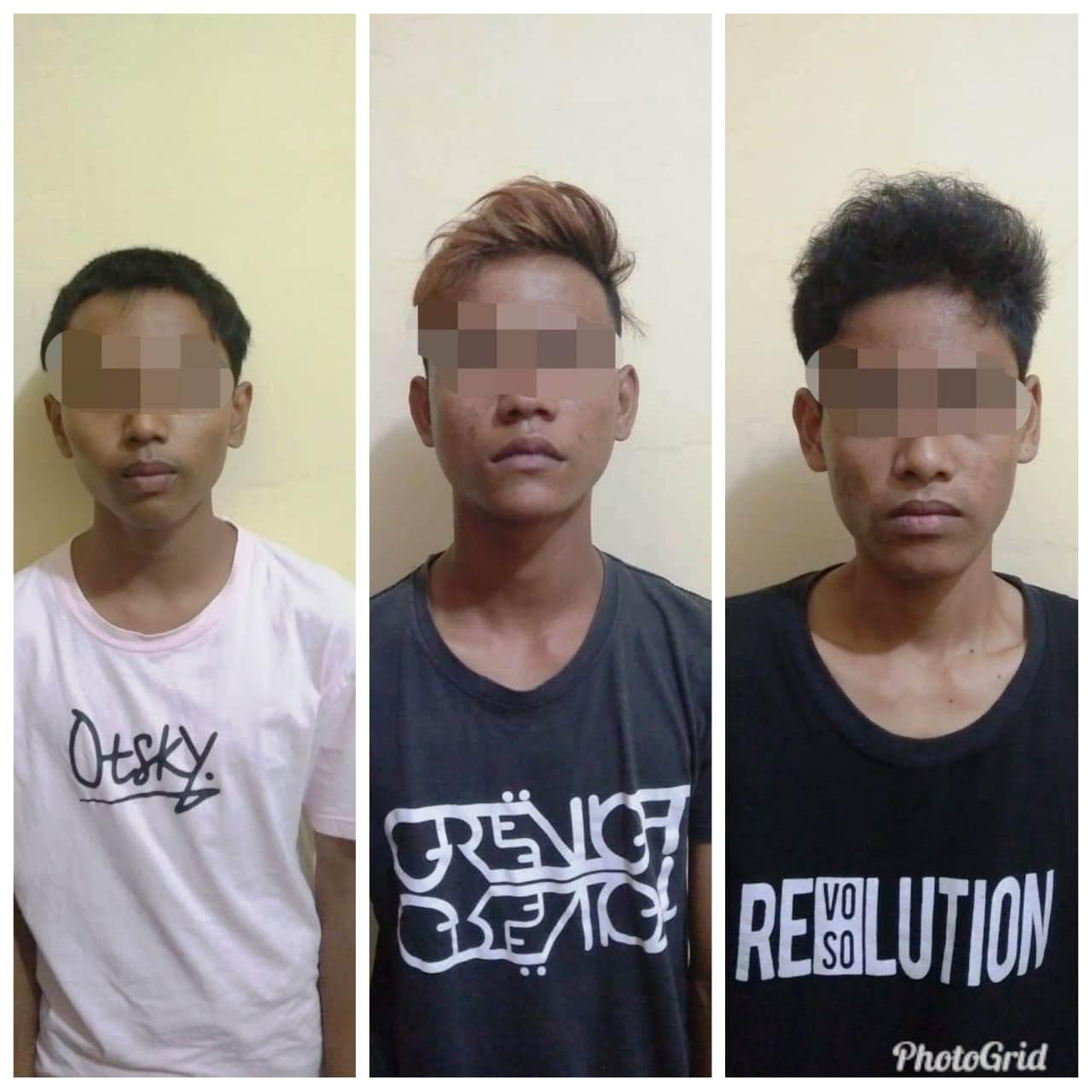 Curi Kabel, Tiga Remaja di Tembilahan ini Diringkus Aparat