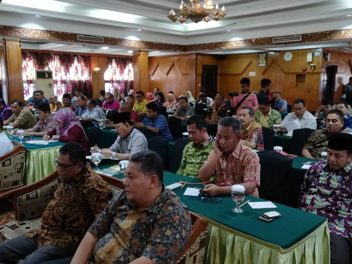 Bupati Inhil; Penyempurnaan RPJMD Renstra dan Pohon Kinerja Perangkat Daerah 2018 - 2023